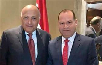 وزير الخارجية: جماعة الإخوان تعتمد على الترويع واتباع سياسة الإقصاء ولابد من توفير حل سلمى  لعودة وحدة سوريا
