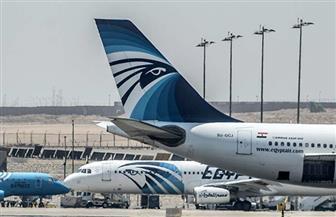 """""""مصرللطيران"""" للخدمات الأرضية تحتفل باستقبال أول رحلة لشركة كورية بمطار القاهرة"""