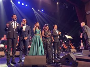 الجمهور السعودى يهتف الله عليك  يامصر فى حفل دار الأوبرا فى جدة | صور