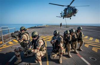 القوات البحرية المصرية والفرنسية تنفذان تدريبا مشتركا بالبحر الأحمر