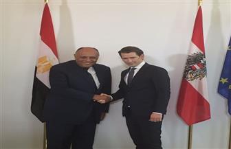 أبو زيد: المستشار النمساوي طلب نقل تحياته للرئيس السيسي وتطلعه لتعزيز التعاون مع مصر | صور