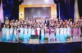 """احتفالية فنية لطلاب """"الطلائع"""" بالتعاون بين القوات المسلحة ووزارة الشباب والرياضة   صور"""