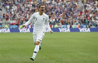 جريزمان رجل مباراة فرنسا وأوروجواى