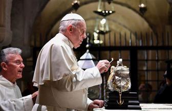 البابا فرنسيس يخشى تلاشي الوجود المسيحي بالشرق الأوسط