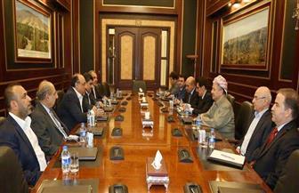 بارزاني يستقبل الوفد المشترك لائتلافي الفتح ودولة القانون العراقيين