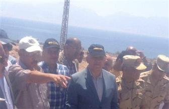 وزير الري يفتتح 15 منشأ لتخزين 7 ملايين متر مكعب من مياه السيول بجنوب سيناء | صور