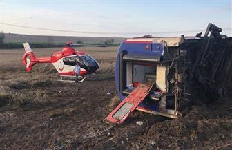 خروج قطار عن القضبان في تركيا ومقتل وإصابة عدد من الركاب