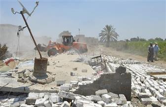 إزالة 22 تعديا على أملاك الدولة بقرى كفر الشيخ | صور