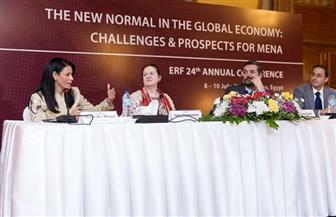 وزيرة السياحة: التكنولوجيا الحديثة وأسعار النفط والتغيرات المناخية لها تأثير على الاقتصاد العالمي | صور
