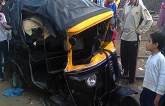 مصرع طفل وإصابة شقيقه الأكبر في حادث قطار بالشرقية