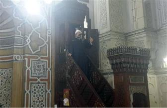 وزير الأوقاف من مسجد القائد إبراهيم: لا يُقبل الحج من أموال حرام فالله طيب ولا يقبل إلا الطيب | فيديو وصور