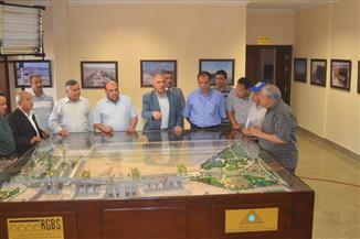 وزير الري يتفقد قناطر أسيوط الجديدة استعدادا لافتتاحها |صور