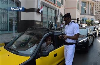 حملات مرورية بعدد من المحافظات لتحقيق الانضباط المروري | فيديو