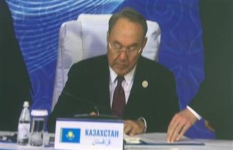 """رئيس كازاخستان: تفاهمات عسكرية بين دول """"بحر قزوين"""".. ومنتدى اقتصادي دولي"""