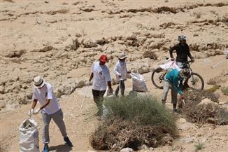 إطلاق حملة نظافة تطوعية بمحمية وادى دجلة في المعادي | صور