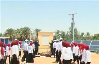 الرئيس السيسي يفتتح 25 بئرا جوفية بمحافظة الوادي الجديد