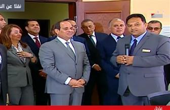 الرئيس السيسي يستمع لشرح تفصيلي عن مشروع قناطر أسيوط الجديدة