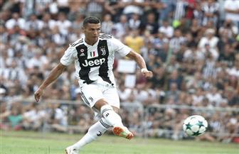 رونالدو يوقع على هدفه الأول بقميص يوفنتوس الإيطالي