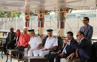 أشرف صبحي يشهد فقرات استعراضية على ضفاف نهر النيل احتفالا باليوم العالمي للشباب/صور