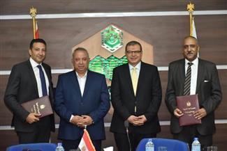 اتفاقية تعاون بين مديرية القوى العاملة وجمعية المستثمرين بالعاشر من رمضان