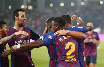 برشلونة بطلا لكأس السوبر الإسباني بعد فوزه على إشبيلية بهدفين مقابل هدف