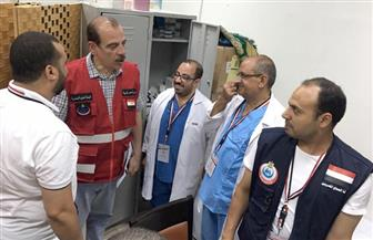 بعثة الحج الطبية تراجع اشتراطات أحد فنادق مكة بعد إصابة الحجاج المصريين بنزلات معوية | صور
