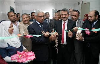 افتتاح وحدة الأطفال المبتسرين وحديثي الولادة بمستشفى قنا الجامعي | صور
