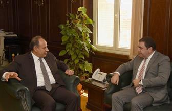 محافظ الإسكندرية يستقبل سفير أذربيجان
