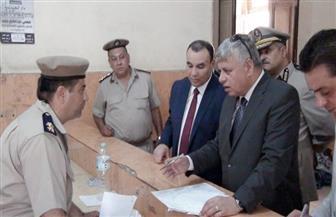 مساعد وزير الداخلية لمنطقة وسط الدلتا ومدير أمن المنوفية يتفقدان الحالة الأمنية | صور