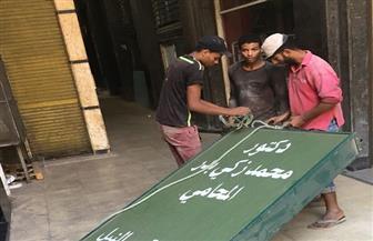 رئيس حي عابدين يتابع حملات إزالة الإعلانات المخالفة| صور