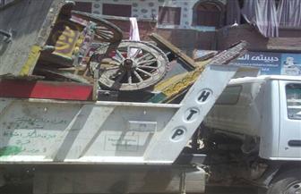 مركز ديروط يحرر 72 محضرًا في حملة مكبرة لرفع الإشغالات | صور