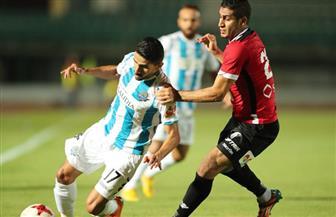 شوط أول سلبي بين بيراميدز وطلائع الجيش في كأس مصر