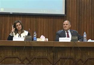 """وزير الري: مشروع قناطر أسيوط الجديدة أول الخطوات المصرية لتنفيذ الممر الملاحي """"فيكتوريا - المتوسط"""""""