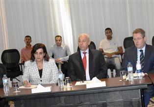 محافظ أسوان يشهد افتتاح ورشة عمل لمناقشة مقترح خطة إدارة مصايد بحيرة ناصر| صور