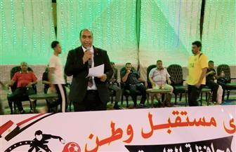 """القاضي لـ""""بوابة الأهرام"""": اهتمام الحزب بإقامة دوري للشباب يتماشى مع توصيات الرئيس بدعمهم وتأهيلهم"""