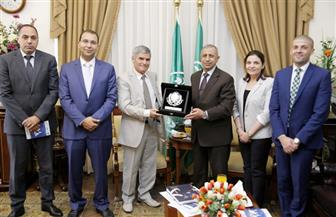 بروتوكول تعاون بين الأكاديمية العربية وجامعة فارنا البلغارية في مجال السياحة والفنادق | صور