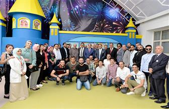 افتتاح وحدة طب أورام الأطفال بالدور السابع بمركز أورام جامعة المنصورة