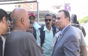 مدير أمن المنوفية يتفقد مجمع مواقف شبين الكوم | صور