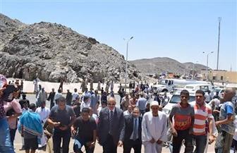 2500 طن مياه لتغطية الاحتياجات أثناء احتفالات مولد الشيخ الشاذلي بمرسى علم | صور