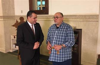 """الإثنين.. خالد الجندي يتحدث عن مشوار حياته  في """"أخبار مصر"""""""