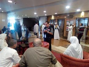 """""""الصحة"""": عيادات البعثة الطبية للحج توقع الكشف على 57083 حاجا مصريا   صور"""