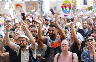 انطلاق مظاهرات مناهضة للنازيين الجدد في برلين