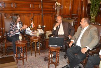 وزيرا الهجرة والزراعة يبحثان مشروع الزراعات الدقيقة مع الخبير هشام العسكري