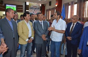 وزير الرياضة يتفقد مبنى مركز شباب الرياض بكفر الشيخ | صور