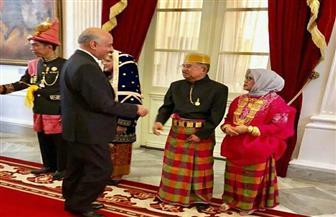 السفير المصري في جاكرتا يشارك في احتفالات العيد القومي الإندونيسي | صور