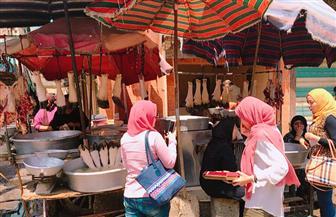 حملة لتوعية العاملين بمجازرالدقهلية بترشيد استهلاك المياه أثناء عمليات الذبح في عيد الأضحى | صور