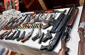 في 24 ساعة.. حملة مكبرة تضبط 215 قطعة سلاح و285 قضية مخدرات