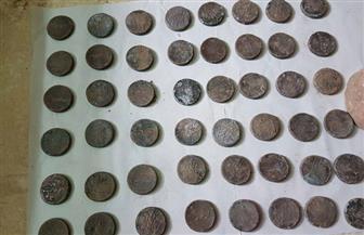 ضبط 621 قطعة من العملات الرومانية بحوزة عامل في الشرقية