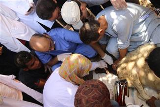 ختام أعمال قوافل جامعة أسيوط البيطرية بمختلف مراكز المحافظة | صور