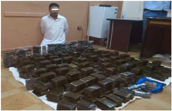ضبط شخص بحوزته نصف طن من مخدر الحشيش بالإسكندرية